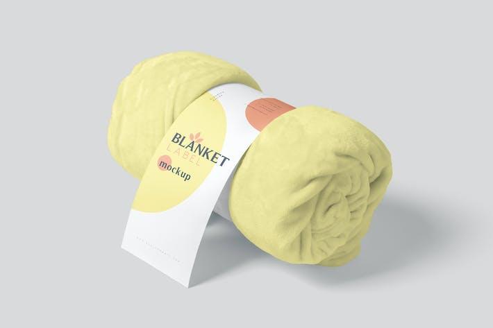 Blanket Label Mockups