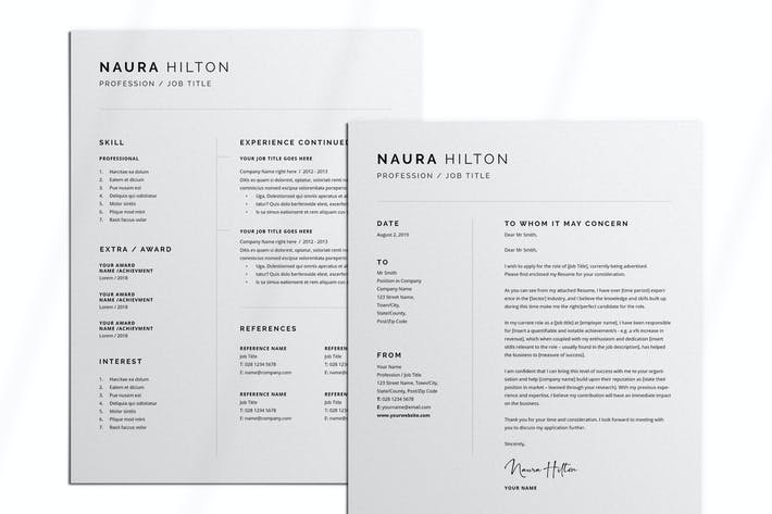 Thumbnail for Resume + Cover Letter