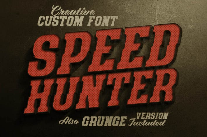 Thumbnail for SpeedHunter Font