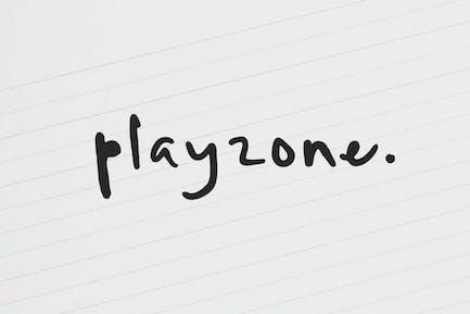 Playzone - Handwritten Doodle Font