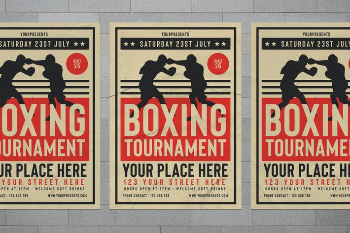 Thumbnail for Boxing Tournament Flyer