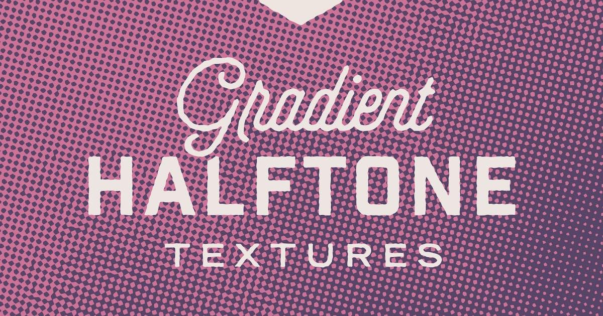 Download Retro Gradient Halftone Textures by ghostlypixels