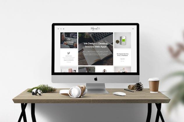 Ridgewood Co. – Responsive HTML5 Portfolio for Cre