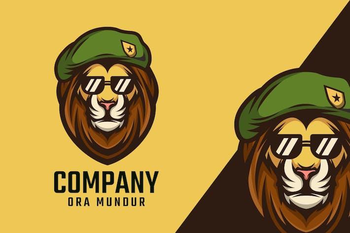 Thumbnail for Mascote Logo Leão