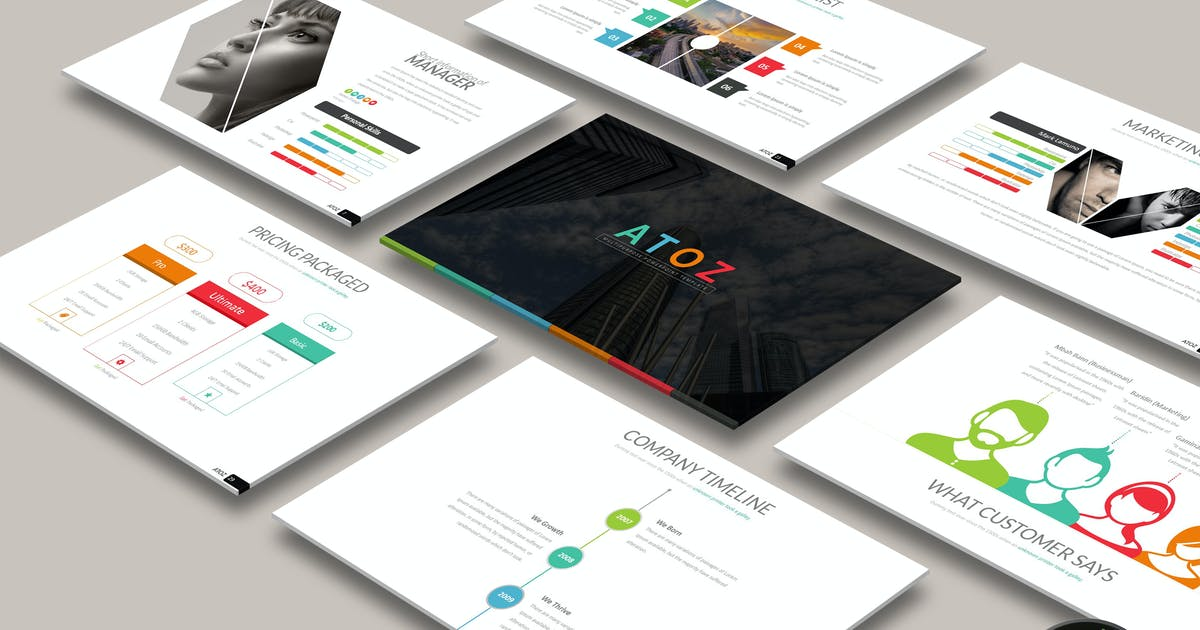 ATOS Powerpoint by Artmonk