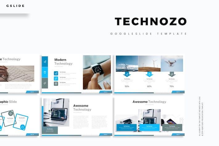 Cover Image For Technozo - Google Slide Template