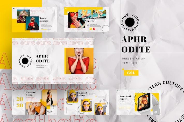 Thumbnail for Aphrodite - Streetwear Google Slides Template