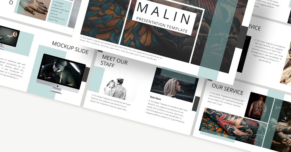 Download Malin - Powerpoint Template by Macademia