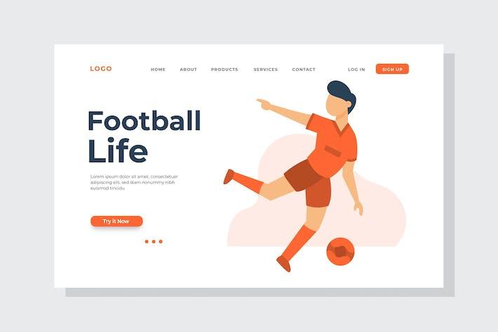 Thumbnail for Illustration de la page d'accueil Football Life