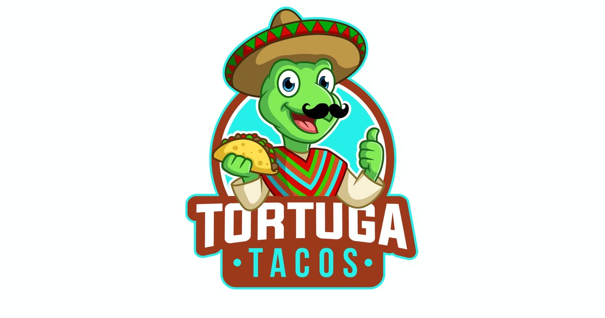 Download Tortuga Tacos Logo by PremiumLayers