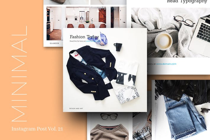 Thumbnail for Minimal Instagram Post Vol. 21