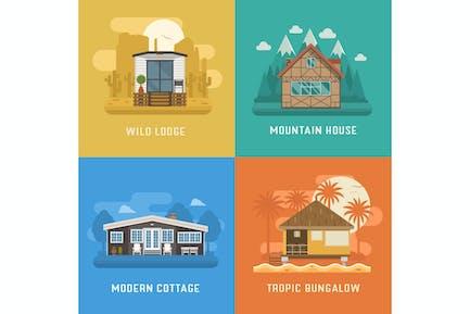 Conjunto Casas y Lugares de Vida