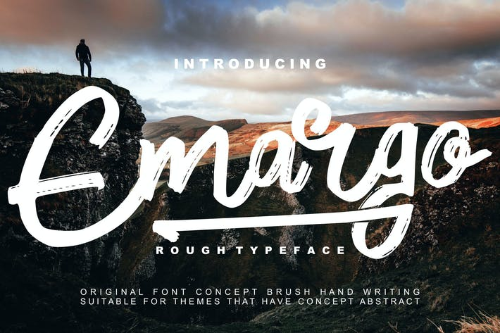 Emargo - Rough Typeface