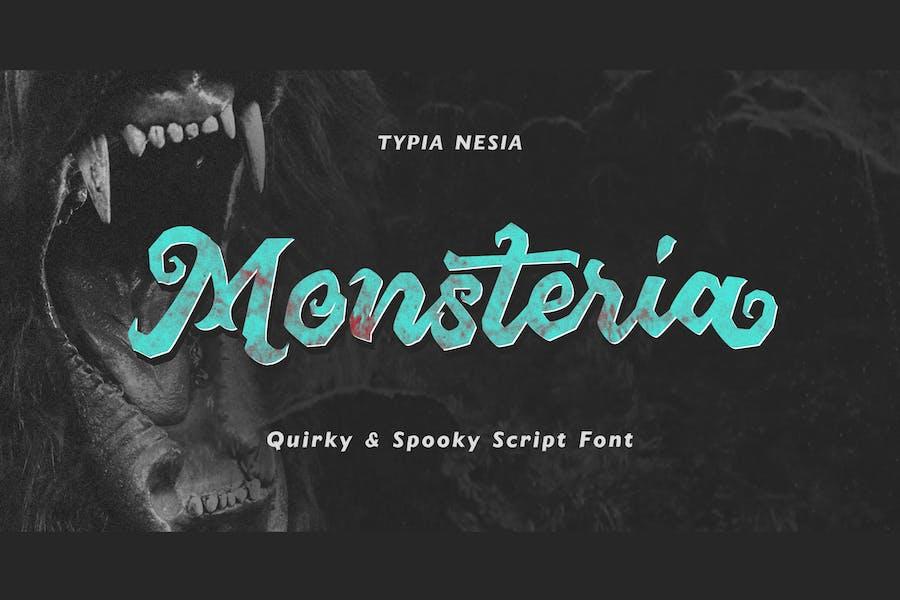 Monsteria Spooky Script