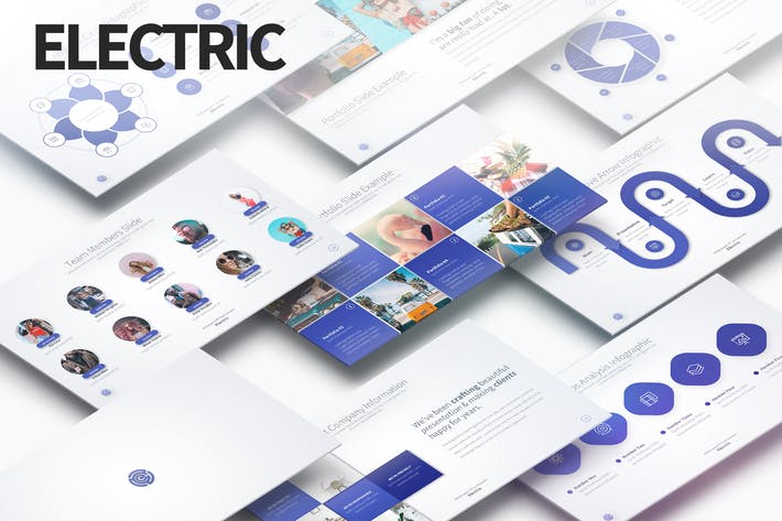 Thumbnail for ELECTRIC - Многоцелевая презентация PowerPoint