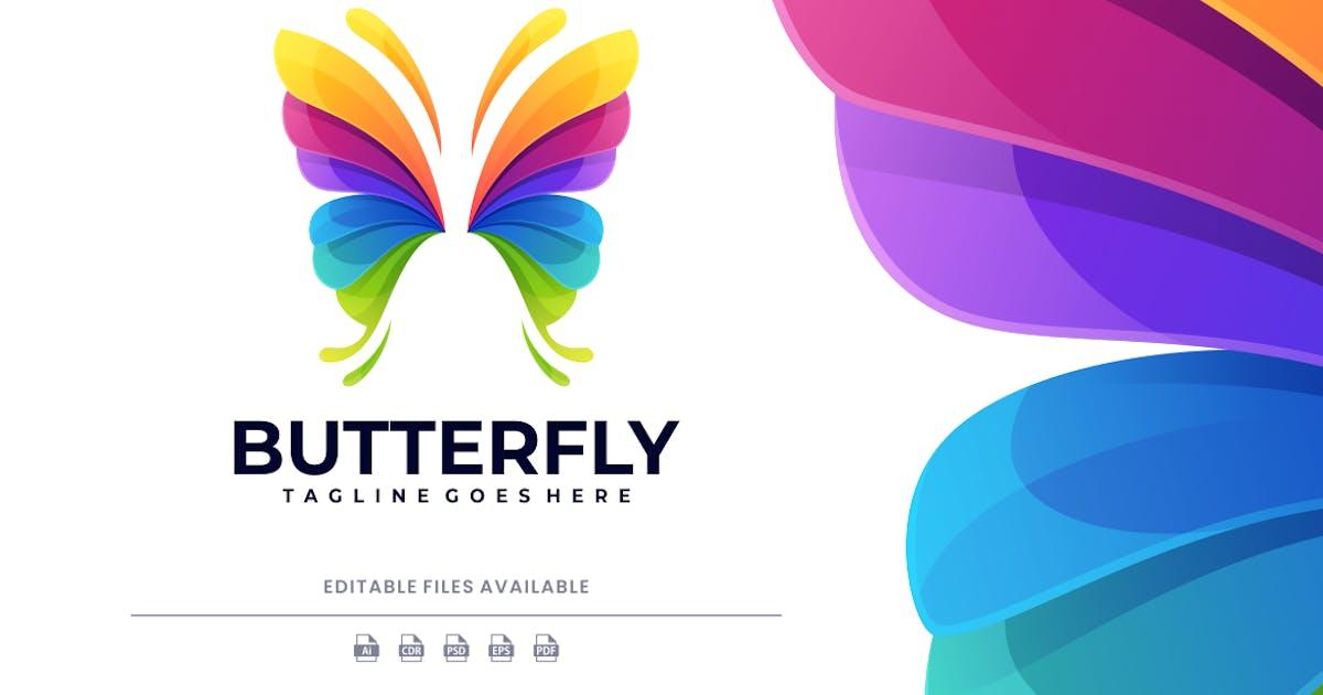 Download Butterfly Gradient Colorful Logo by artnivora_std