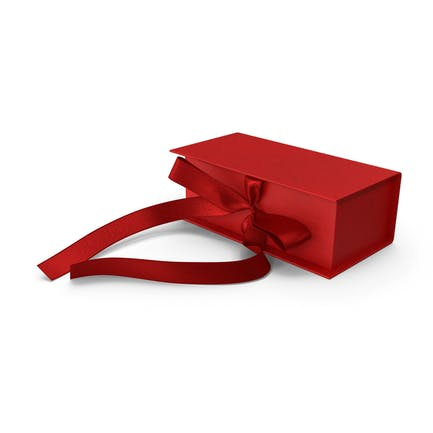 Box Bow Red