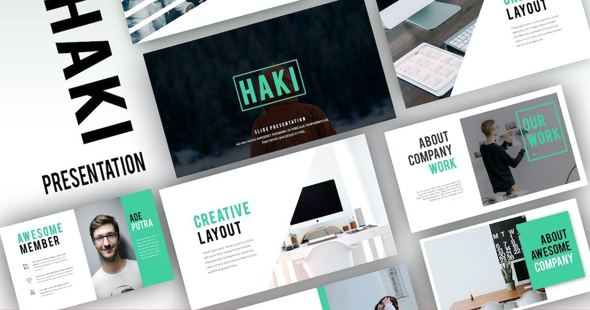 Download Haki Minimal Powerpoint by Fourtyonestd