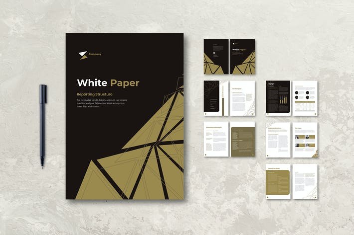 Thumbnail for White Paper Company Annual Report