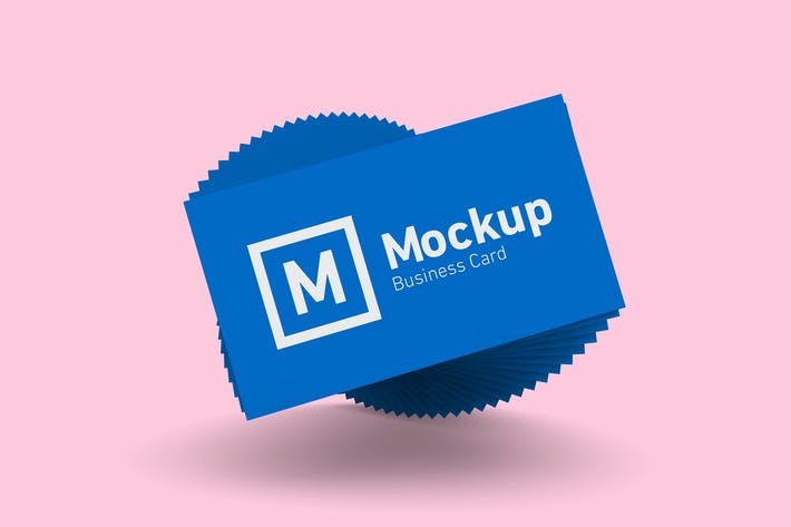Thumbnail for Business Card Abstract Mockup