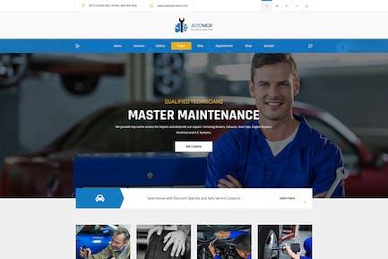Automov - Car Repair, Auto Car Services HTML Templ