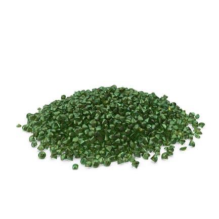 Großer Smaragd-Haufen