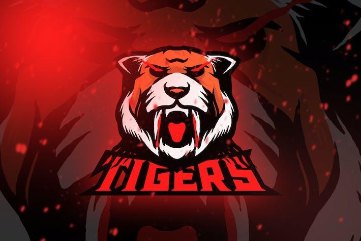 Thumbnail for Tiger Esport Logo Vol. 2