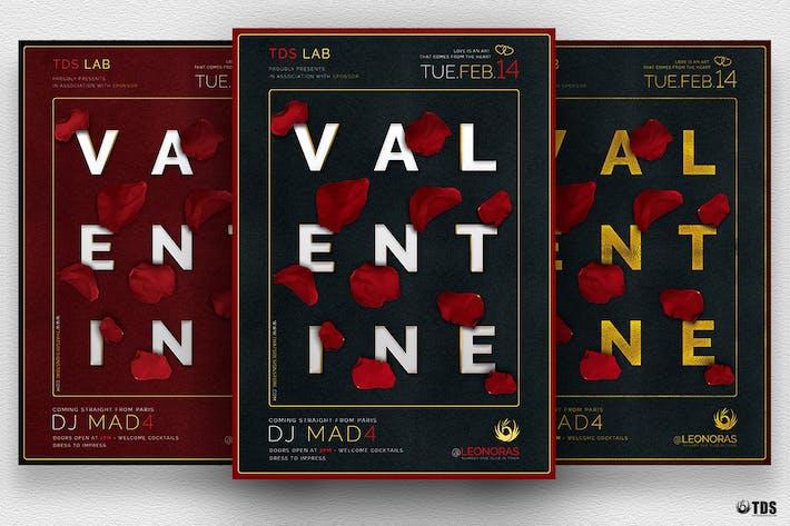 Valentines Day Flyer Template V10