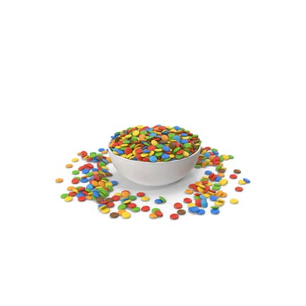 Sweets Candy In Bowl