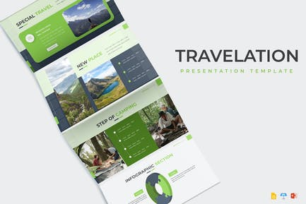 Travelation - Presentation Template