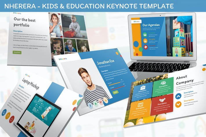 Thumbnail for Nherera - Kids & Education Keynote Template
