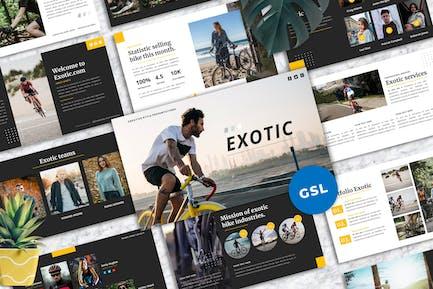 Exotic - Creative Googleslide Template