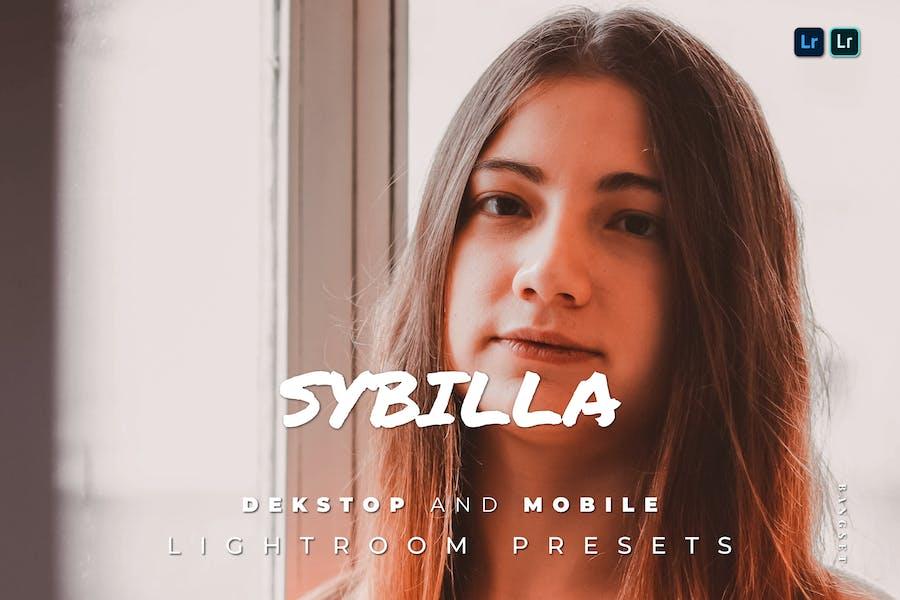 Sybilla Desktop and Mobile Lightroom Preset