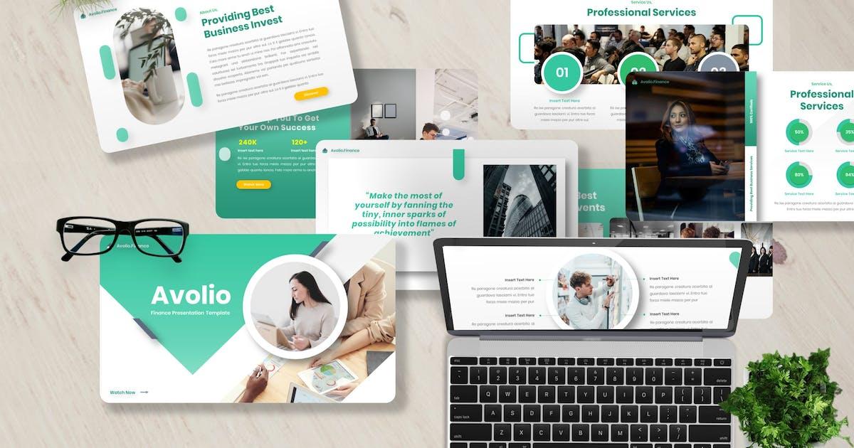 Download Avolio - Finance Keynote Template by Yumnacreative