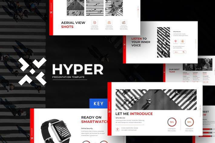 Thumbnail for Hyper - Keynote Template