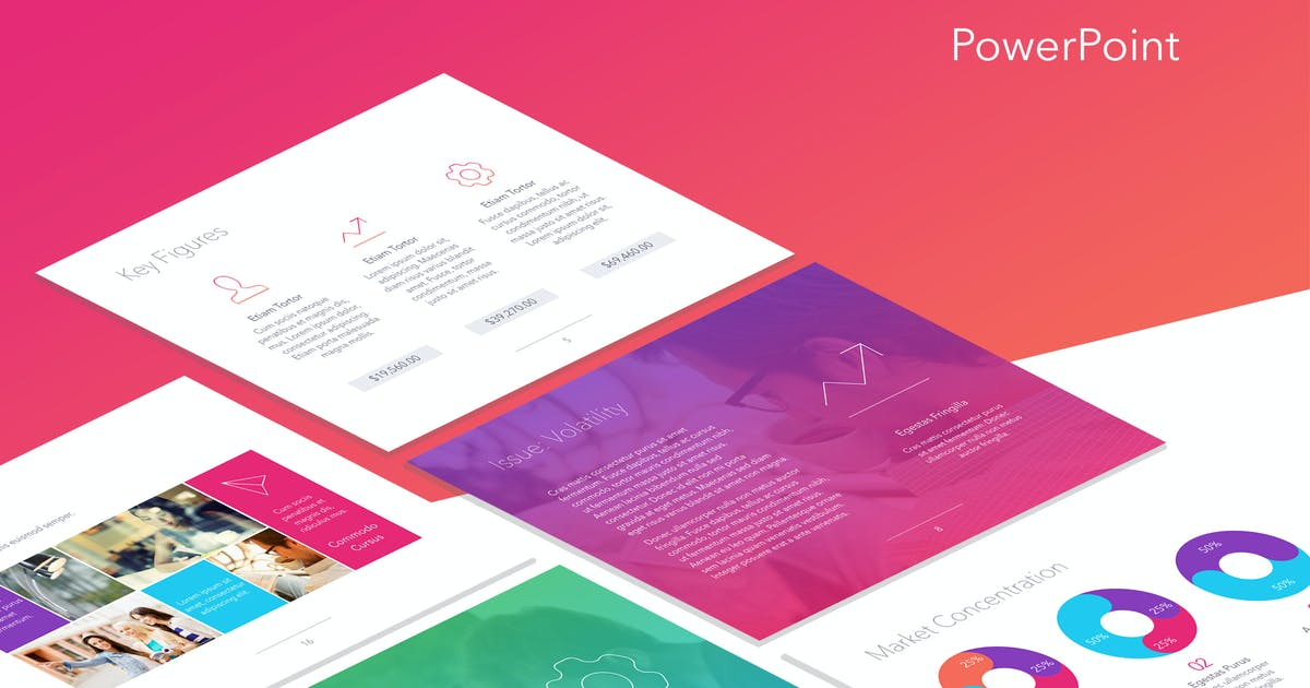 Sunset Safari PowerPoint Template by Unknow