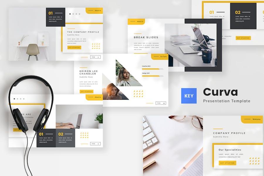 Creative Company Profile Keynote Template
