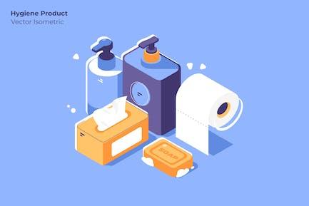 Producto Higiene - Ilustración Vector