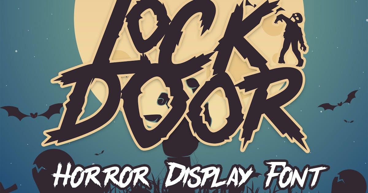 Download Lockdoor - Halloween Font by arendxstudio