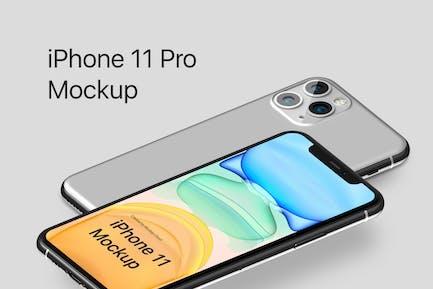 iPhone 11 Pro Mockup Kit