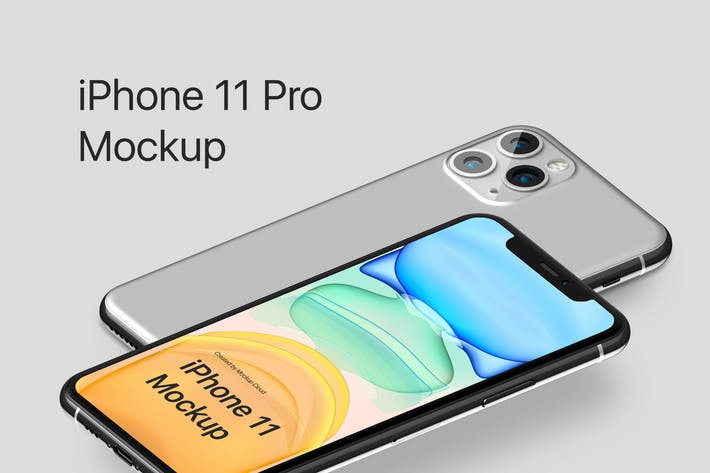 Thumbnail for iPhone 11 Pro Mockup Kit