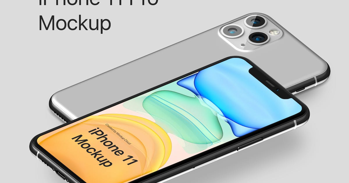 Download iPhone 11 Pro Mockup Kit by Genetic96