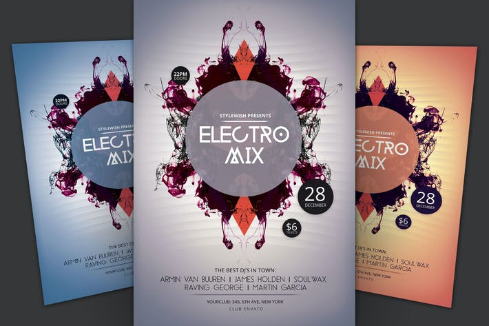 Thumbnail for Electro Mix Flyer
