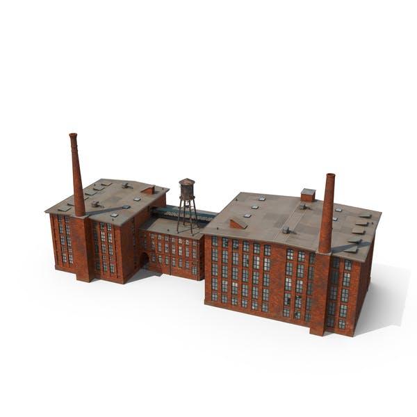 Thumbnail for Factory with Smokestacks