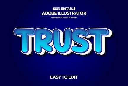 Trust Text Effect