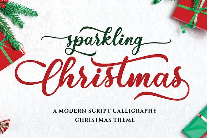 Thumbnail for Sparkling Christmas - Modern Script Font