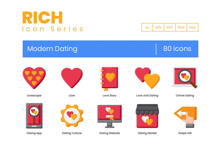 Modern Dating Icons
