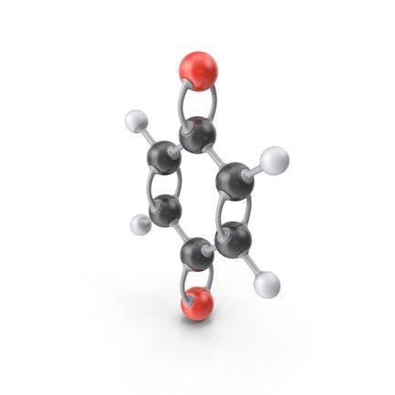 Молекула парабензохинона