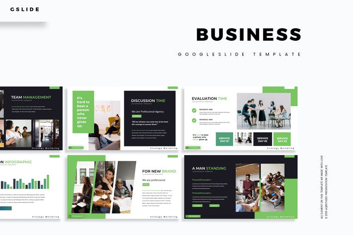 Cover Image For Business - Keynote Template