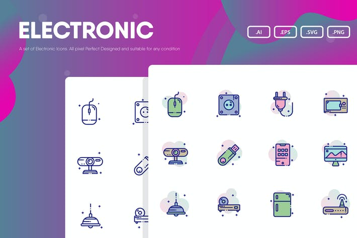 Thumbnail for Electronics Icon Pack